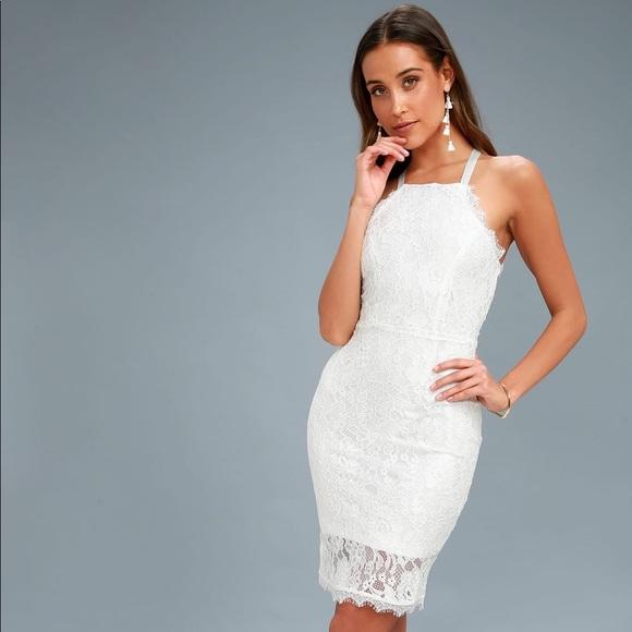 dde6ce2ff4c Little White Lulus s Dress BRAND NEW